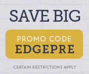 Save with promo code EDGEPRE